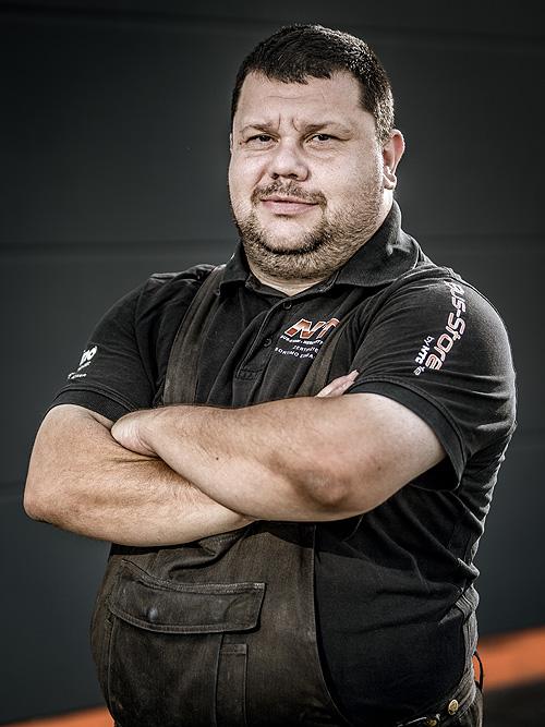 NTC Team > Marco Zimmerer, Fahrzeugaufbereitung