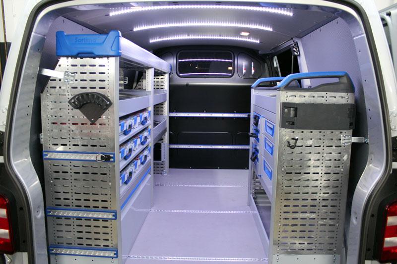 Sortimo ist bekannt für seine ausgeklügelten mobilen Transportlösungen.