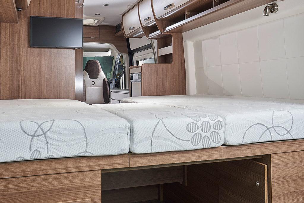 Bravia Swan 599 Edition 30 - Einzelbetten oder Doppelbett - NTC Bus-Store in Erfurt